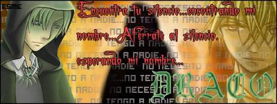 Jojo Admiren mi pulso XD Firma-draco-alone