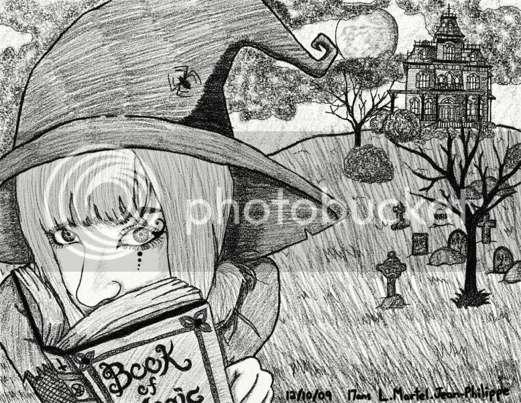 Mes dessins ^^ - Page 10 Melissasorciere