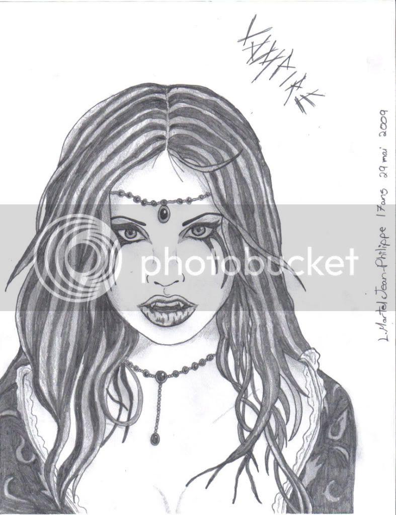 Mes dessins ^^ - Page 9 Vampiregirlbyjp