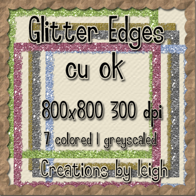 Cu Glitter Edges for papers Cuglitteredgepreview