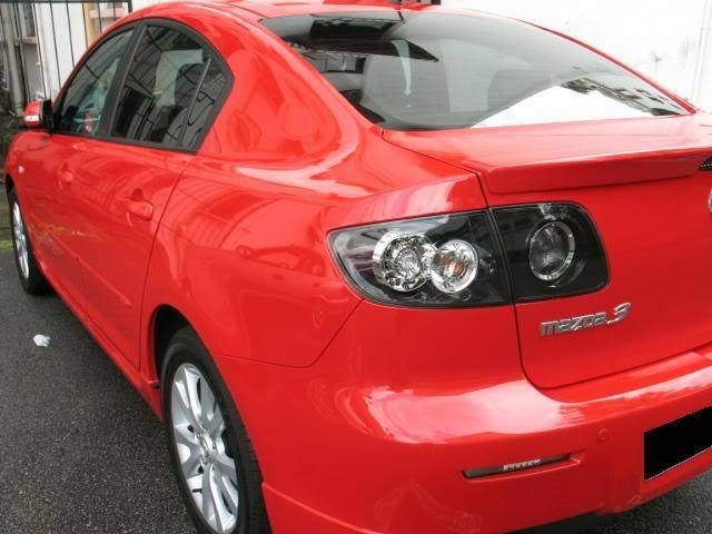 LUCENZ.COM Car Grooming, Products, Privileges Mazda3Jason071210007a