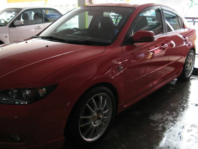 LUCENZ.COM Car Grooming, Products, Privileges Mazda3Shannon071210004
