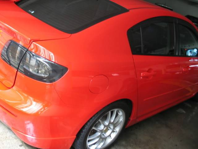 LUCENZ.COM Car Grooming, Products, Privileges Mazda3Shannon071210012