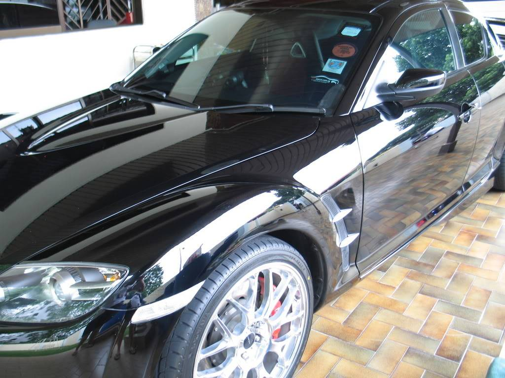 LUCENZ.COM Car Grooming, Products, Privileges MazdaRX8Eric071125004