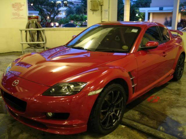 LUCENZ.COM Car Grooming, Products, Privileges MazdaRX8Meida071210004a