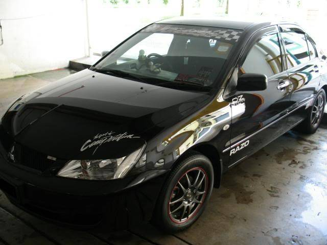 LUCENZ.COM Car Grooming, Products, Privileges MitsubishiLancerNick080113016a