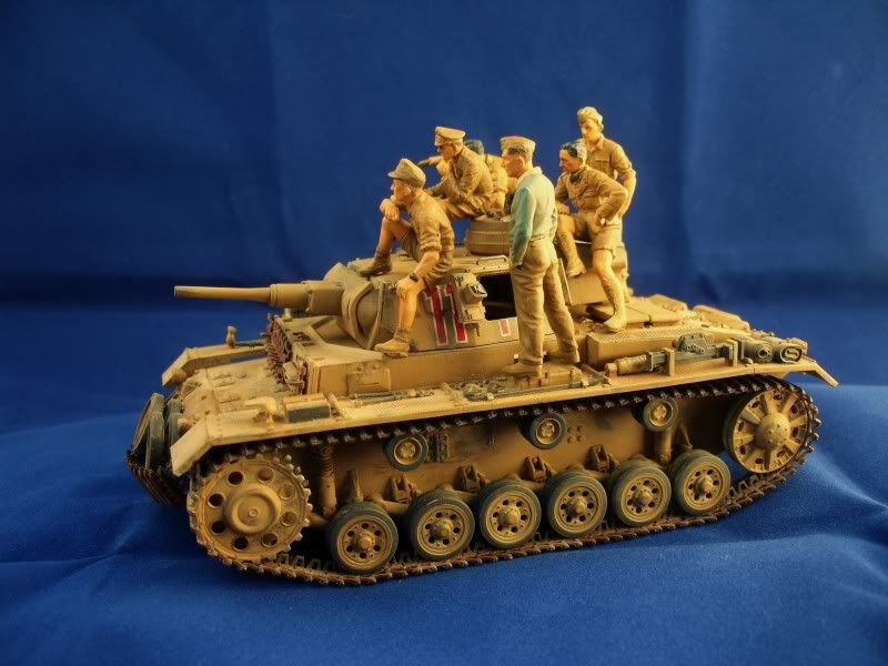 Master Box Rommel and German Tank Crew DSC00423