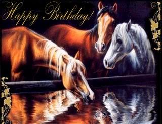 Happy birthday, Horse! HorseHappyBirthday
