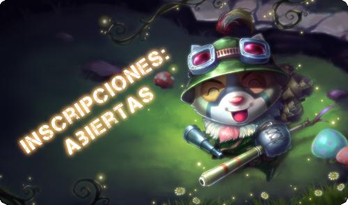 Torneo latinoamericano (chileno) Inscripciones