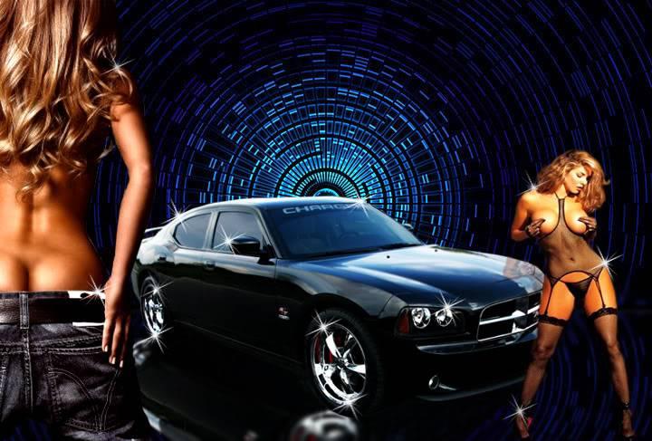 Car show posters - DartArt Andycargirls222222222222222