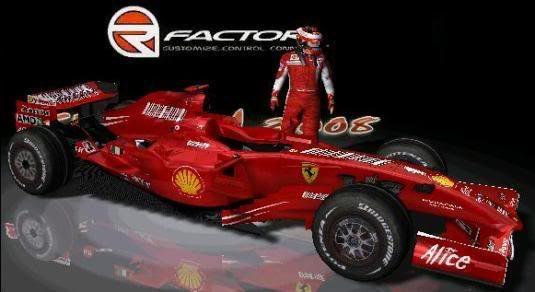 Carros e Equipes. (F1) Ferrari-3