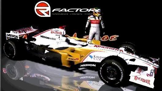 Carros e Equipes. (F1) Forceindia