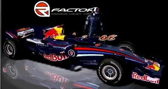 Carros e Equipes. (F1) Redbull-1