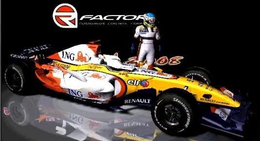 Carros e Equipes. (F1) Renault-4