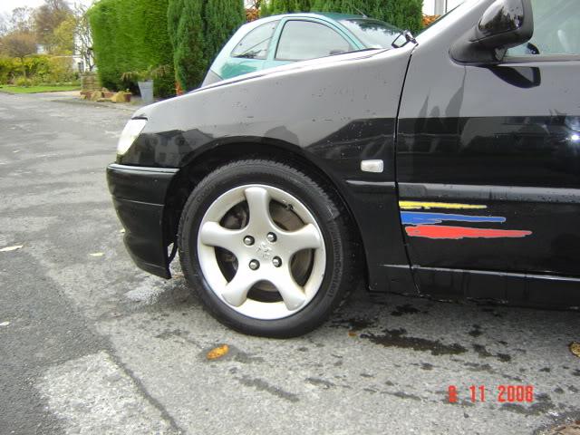 Black Supercharged 306 Rallye  DSC01520