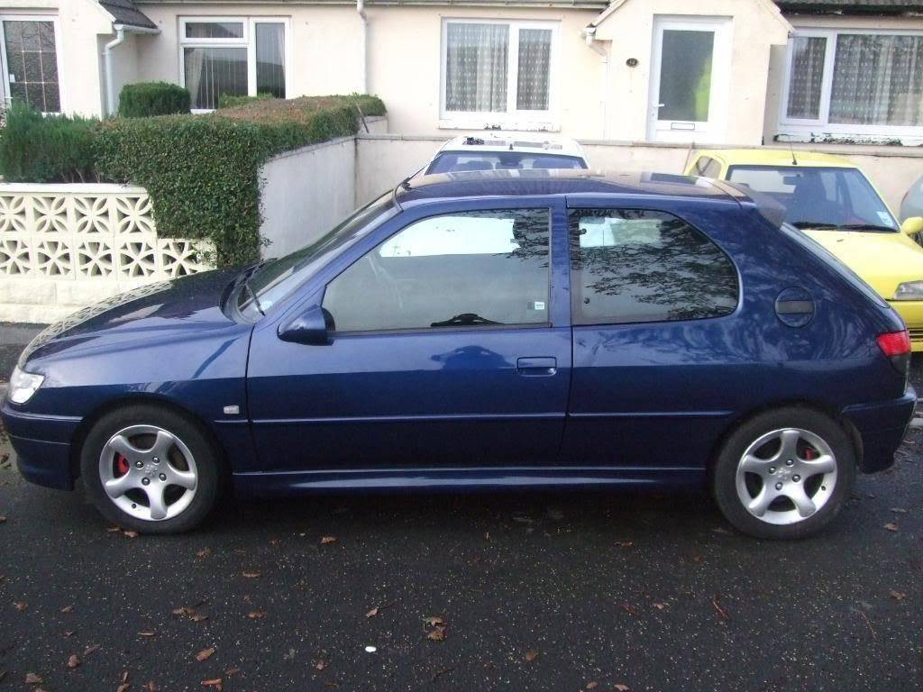 306 xs 1999 'V' plate £800 12 months MOT 2 MonthsTAX DSCF8917