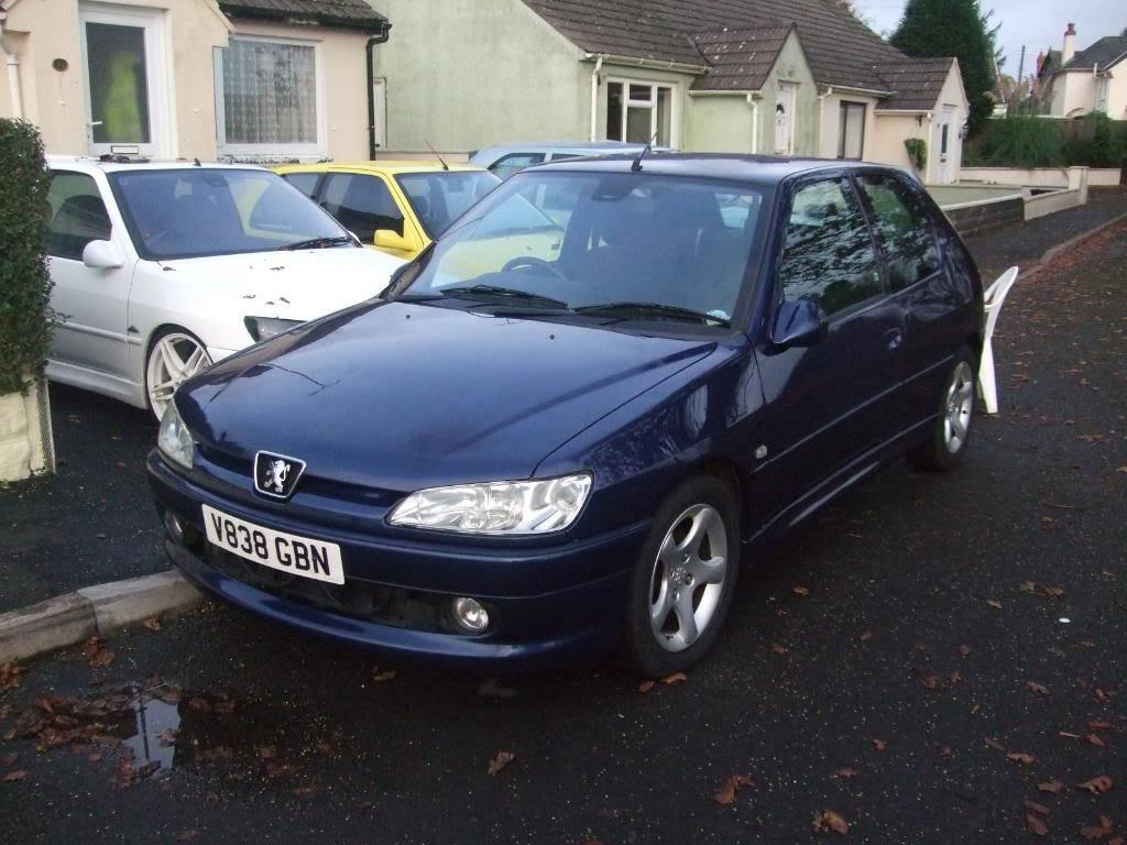 306 xs 1999 'V' plate £800 12 months MOT 2 MonthsTAX DSCF8918