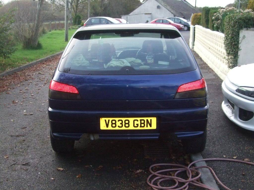 306 xs 1999 'V' plate £800 12 months MOT 2 MonthsTAX DSCF8923