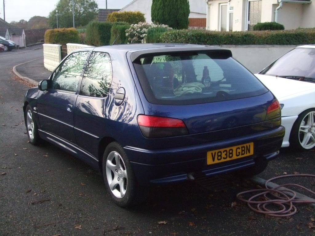 306 xs 1999 'V' plate £800 12 months MOT 2 MonthsTAX DSCF8924