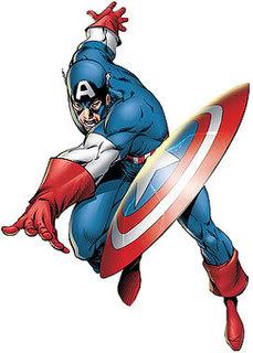 Viñetas de colores: Tebeos, manga, cuadrinhos, comic-books CaptainAmerica