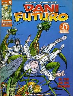 Viñetas de colores: Tebeos, manga, cuadrinhos, comic-books Dani_Futuro_2