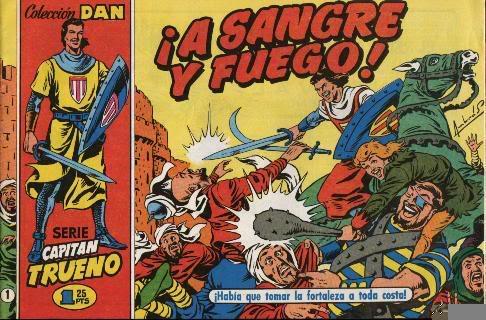 Viñetas de colores: Tebeos, manga, cuadrinhos, comic-books T_trueno125