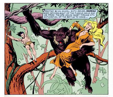 Viñetas de colores: Tebeos, manga, cuadrinhos, comic-books Tarzankubert