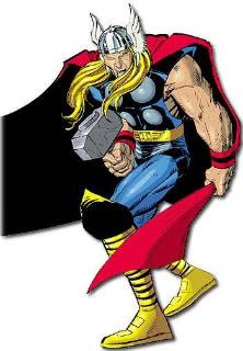 Viñetas de colores: Tebeos, manga, cuadrinhos, comic-books Thor