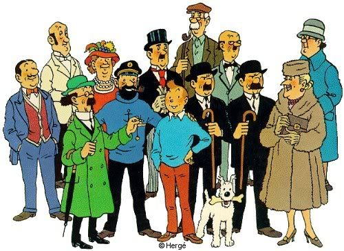 Viñetas de colores: Tebeos, manga, cuadrinhos, comic-books - Página 2 Tintin-top