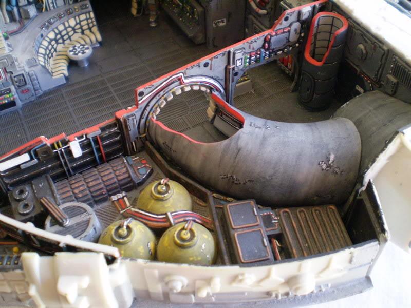Interior del Halcon Milenario PA070118