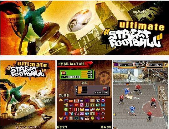 اجل العاب الجيل الثالث المجموعة الثالثة 6630,N70,N73,N85,E60,N95,8500 Ultimate_Street_Football