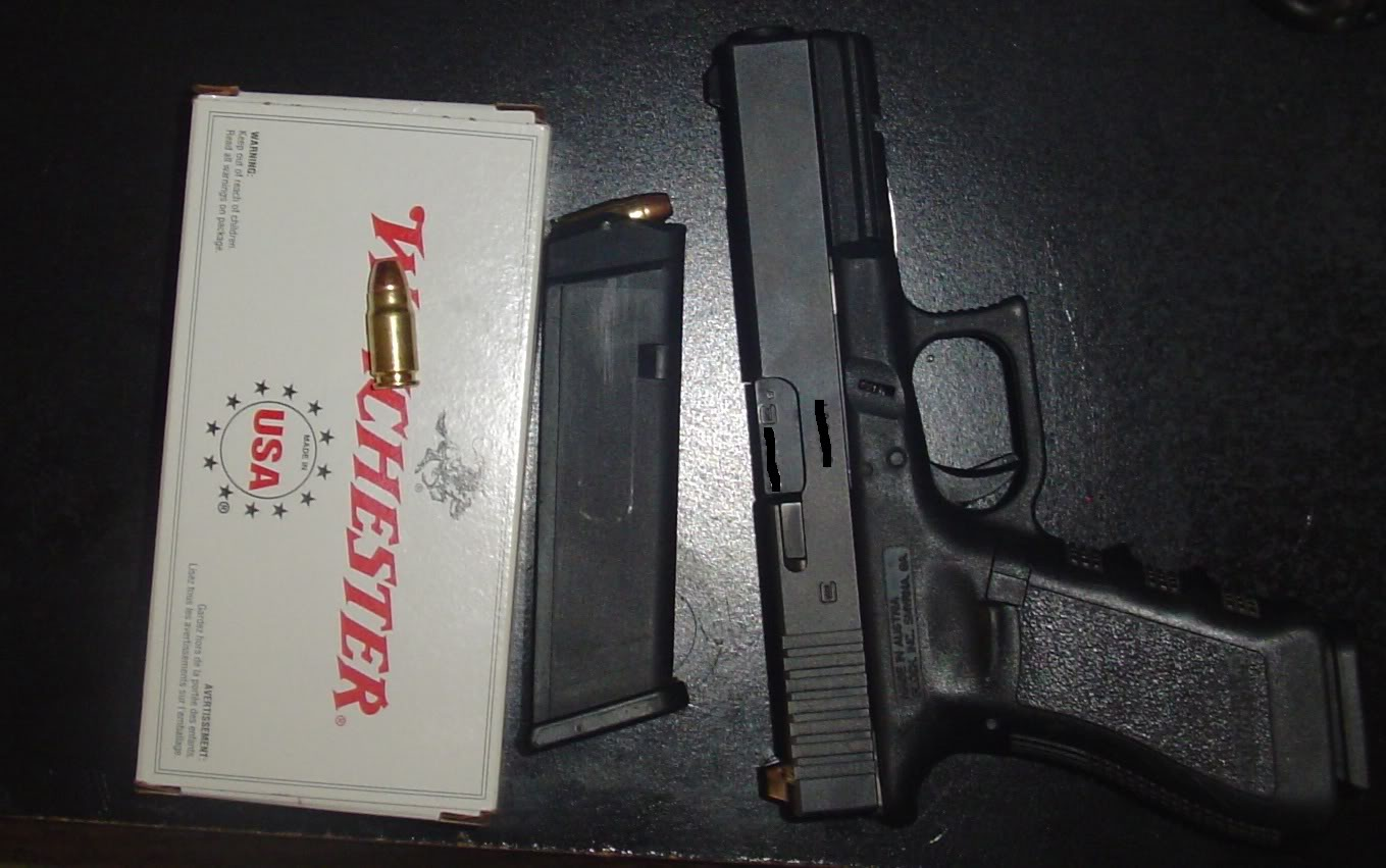 Show you mine if you show me yours :) Glock31c