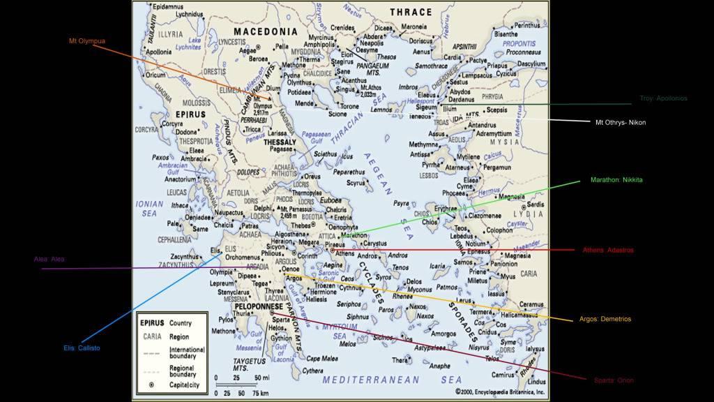 Maps Ancientgreece