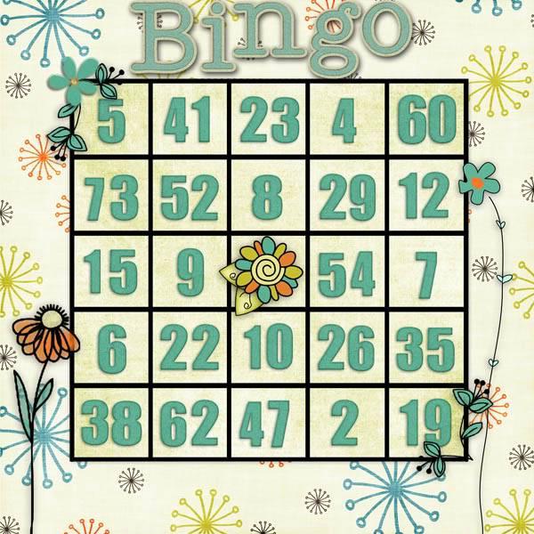 Best Decorated Card - Bingo Sunday 11th 10PM EST BingoCard1
