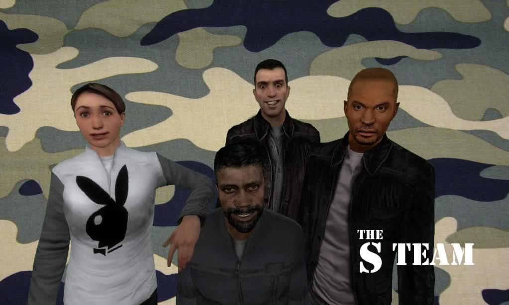 Garry's Mod Posing TheSTeam