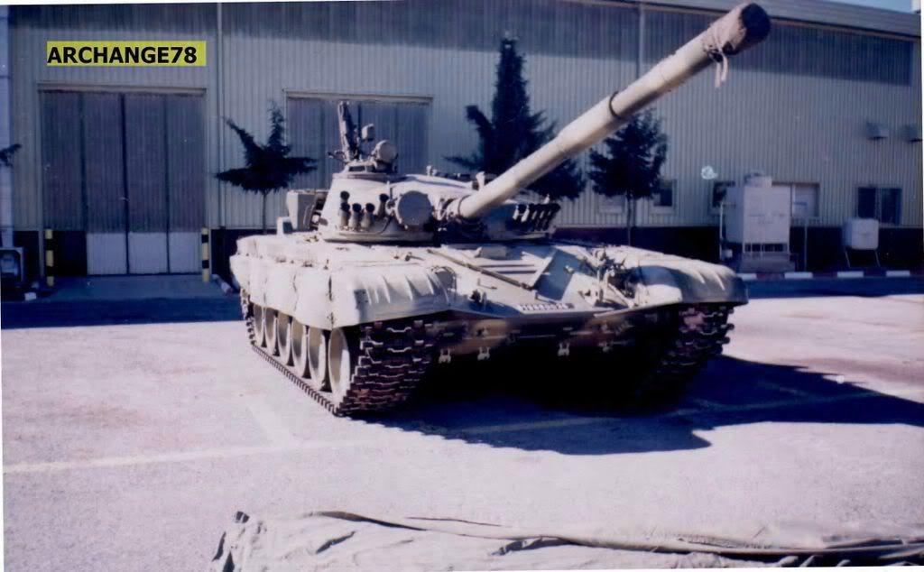 تطور الصناعة الجزائرية العسكرية الثقيلة  بشكل ملحوظ من الشراكة الى الاعتماد الذاتي الكلي . T-72