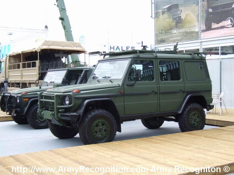 بعض انواع الشاحنات التى تعاقدت عليها الجزائر من شركة  EMPL المانيا  MErcedes_G_Jeep_ArmyRecognition_Eurosatory_2006