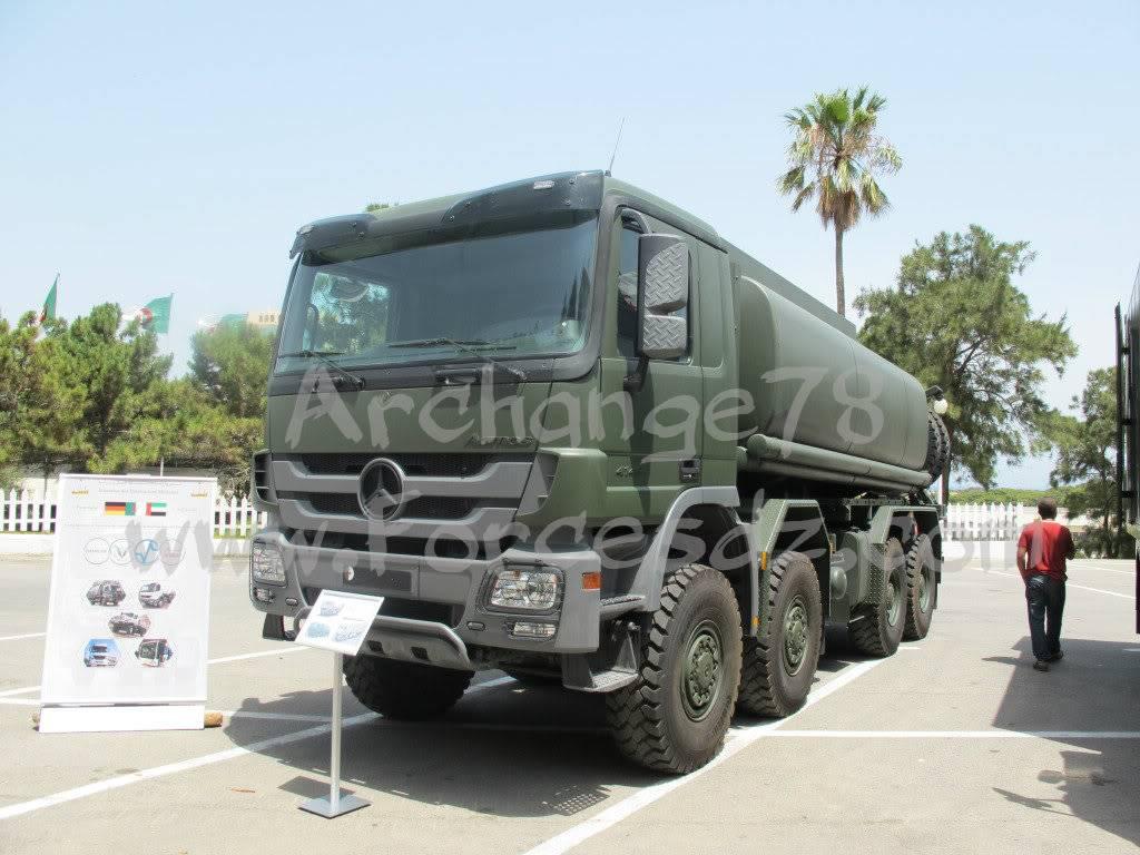 الصناعة العسكرية الجزائرية Actros8x8