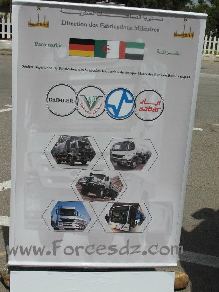 الصناعة العسكرية الجزائرية Affiche