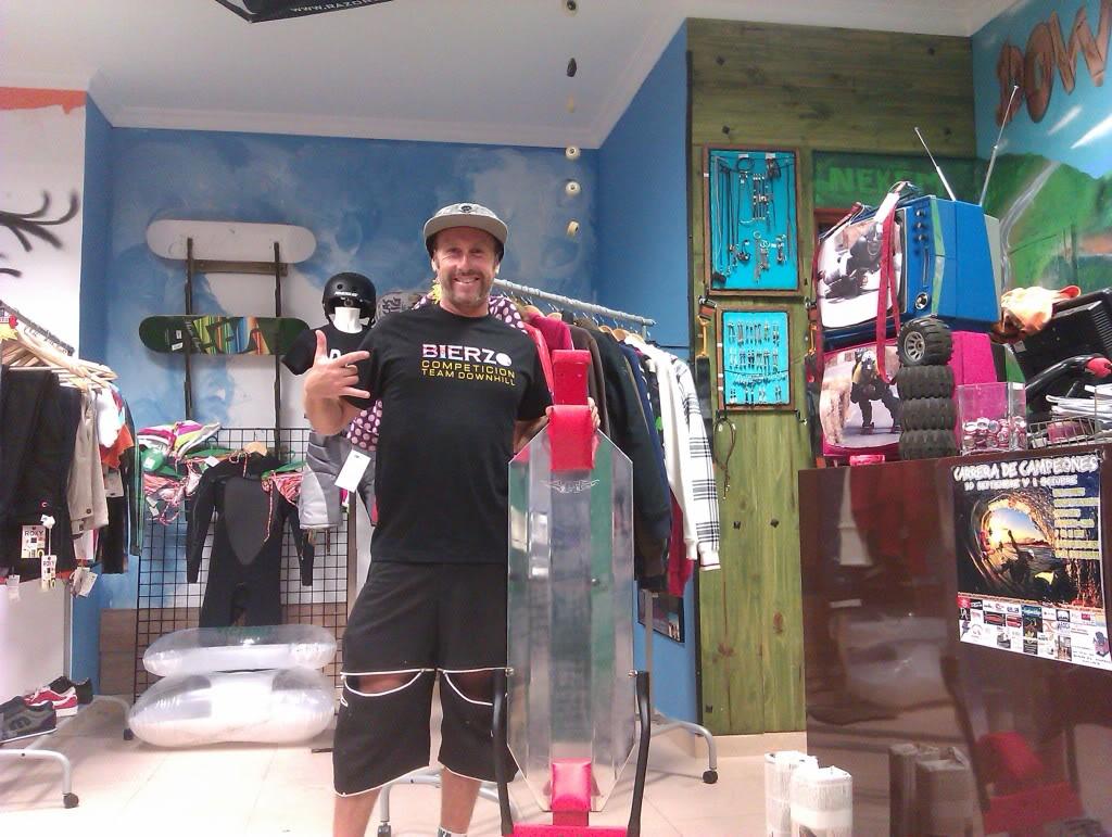 NUeva tienda Downhill Málaga Shop IMAG0618