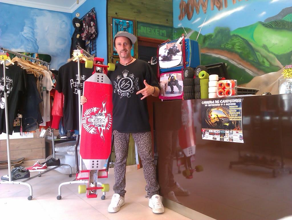 NUeva tienda Downhill Málaga Shop IMAG0656
