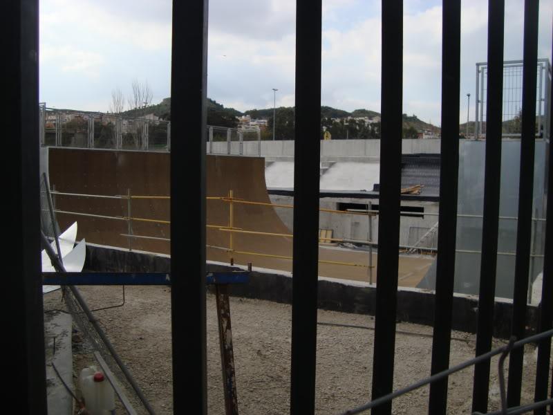 Sk8 Málaga-parque del norte 2011 Half-pipe