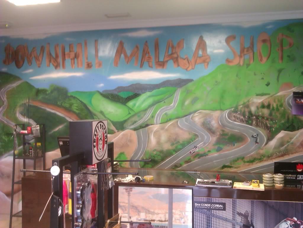 NUeva tienda Downhill Málaga Shop IMAG0600
