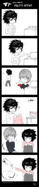 Imágenes de Death Note DeathNote___Pretty_in_Pink_by_Harus
