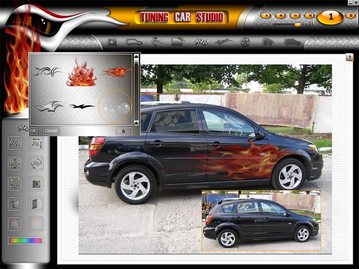 """Tuning Car Studio Premium 2008 - """"độ"""" xe trên máy tính 01"""
