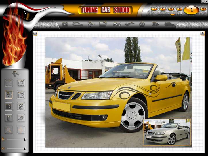 """Tuning Car Studio Premium 2008 - """"độ"""" xe trên máy tính 03"""