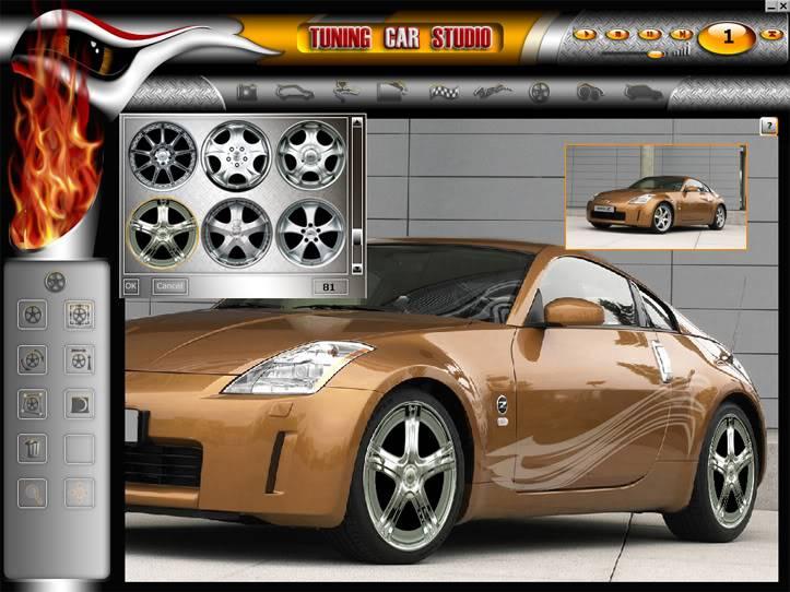 """Tuning Car Studio Premium 2008 - """"độ"""" xe trên máy tính 08"""