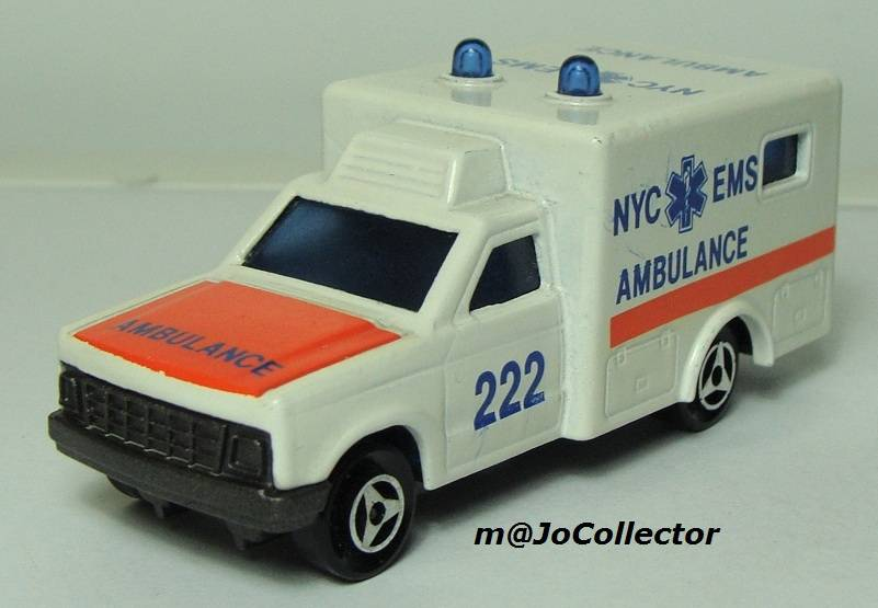 My Majorette Models with Modified Wheels 255.4%20Ambulance%2001