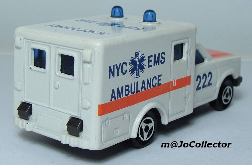 My Majorette Models with Modified Wheels 255.4%20Ambulance%2002