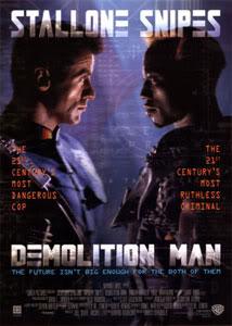 Filmografía de Wesley Snipes/ Filmes de Acción y Thrillers Demolition-Man-1993